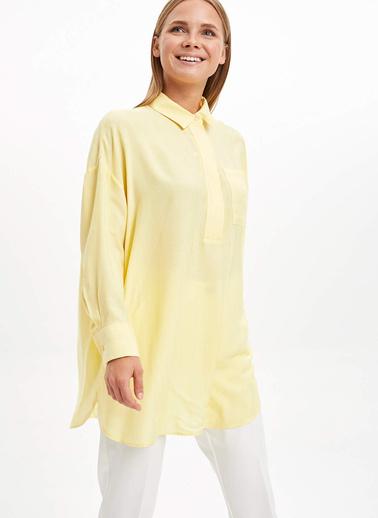 DeFacto Tunik Sarı